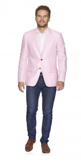 Jacket-2b-Pink-Solid-BW1263/63